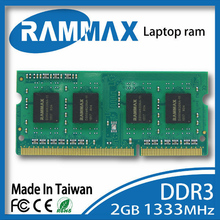 New sealed high compatible with all brand motherboards Laptop Memory Ram 1x2GB DDR3 SO-DIMM 1333Mhz PC3-12800 204-pin/CL9/1.5v