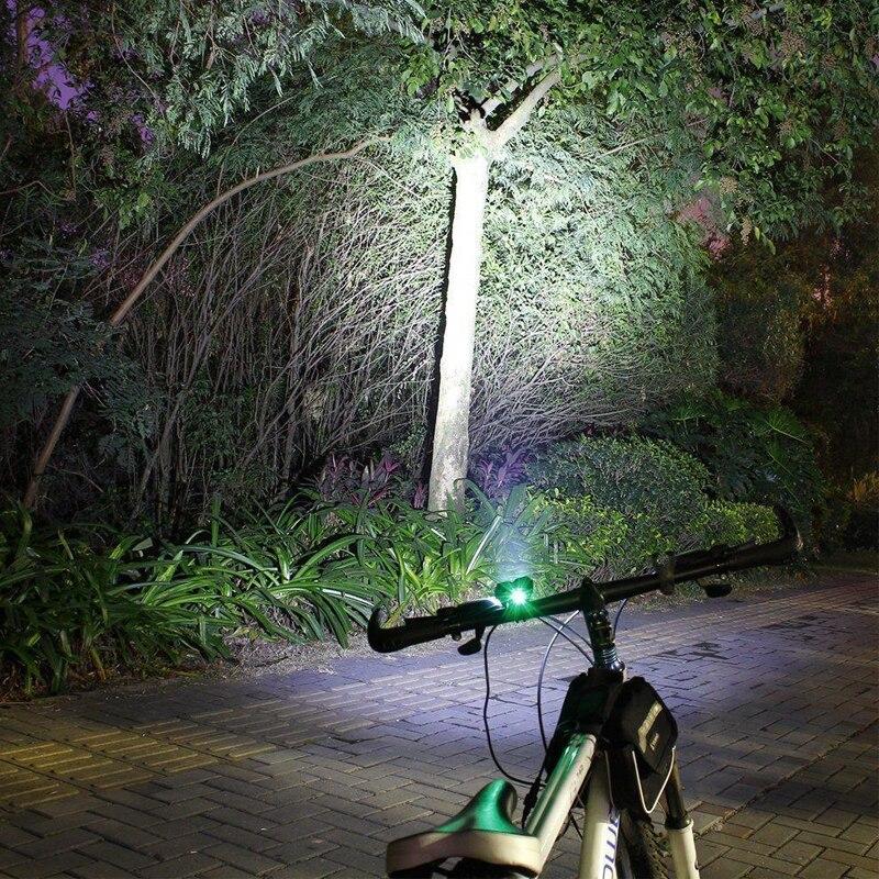 7000Lumens 2x XM-L T6 LED Velosiped İşıqları Velosiped Yüngül - Velosiped sürün - Fotoqrafiya 6