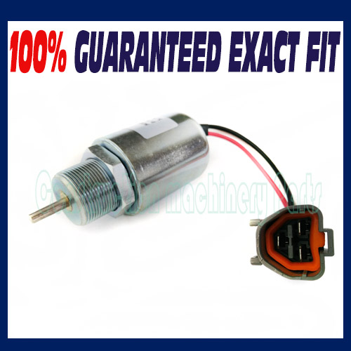 Stop Solenoid Fuel Shutoff Solenoid 30A8700040 30A87-00040 for Mitsubishi Engine - Free shipping сыворотка the skin house the skin house th009lwgoy26