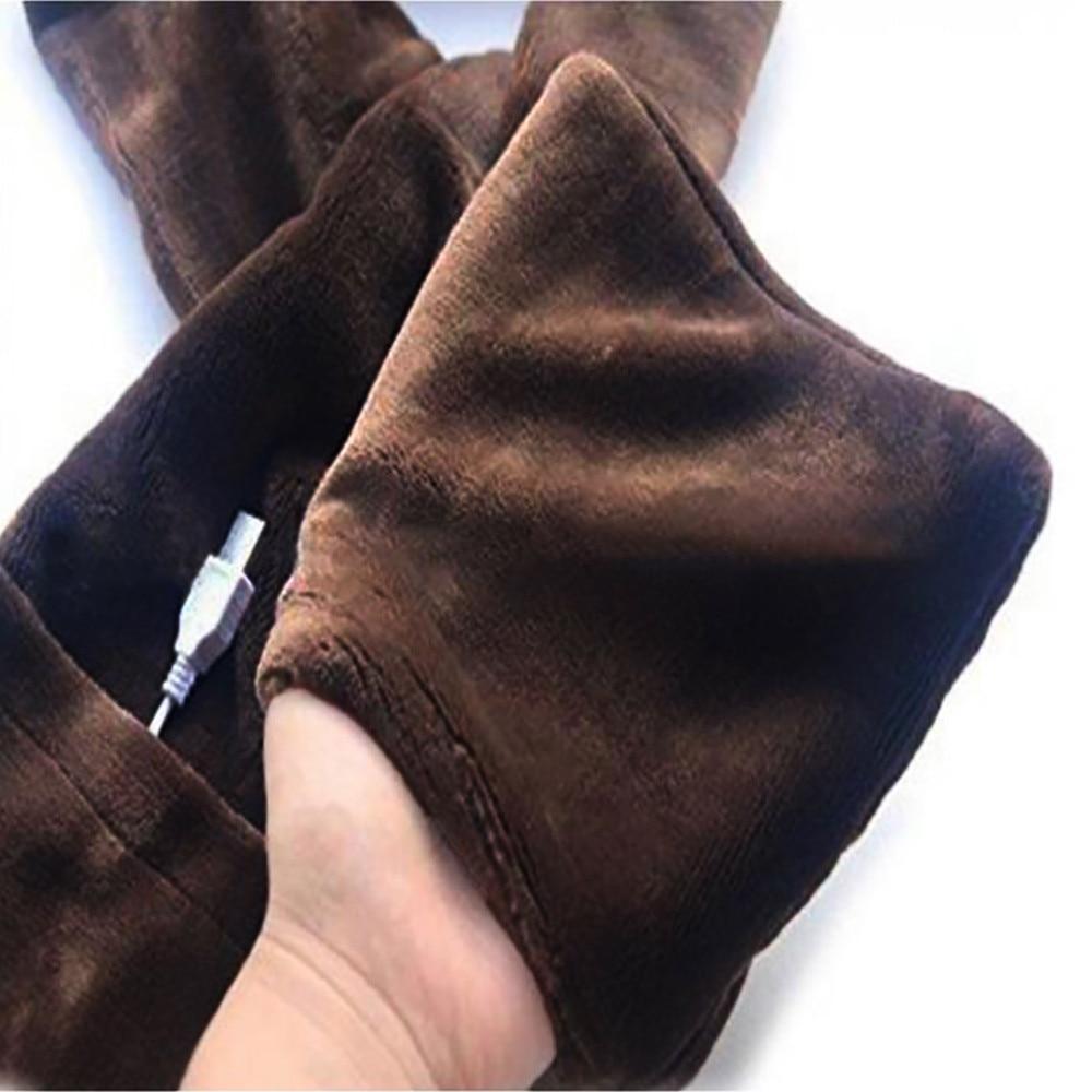 Новое поступление Зимний Электрический Подогрев женский Дамский шарф шаль согревающий шею Портативный USB Мягкий Открытый
