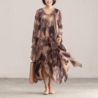 Летний женский комплект 2 шт. кардиган длинный Тренч топы и платье с цветочным рисунком костюм повседневная одежда Boho повседневный комплект