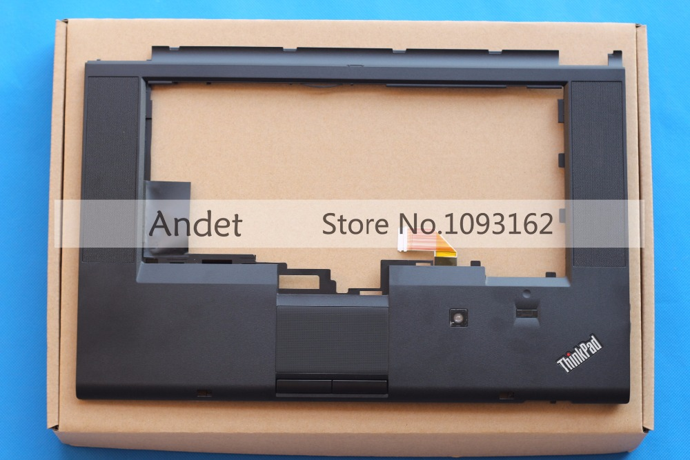 Lenovo ThinkPad T530 T530i W530 Palmrest Keyboard Bezel Upper Case Cover With Touchpad Fingerprint CS 04W6733 04W6821 04X4610 new original lenovo thinkpad e130 e135 bottom case base cover palmrest upper case keyboard bezel with touch 00jt246 00jt244