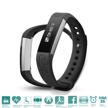 Heart Rate Micro-K Bluetooth Smart Band Monitor Pedometer Call Message Remind for iOS Android OS Wristband