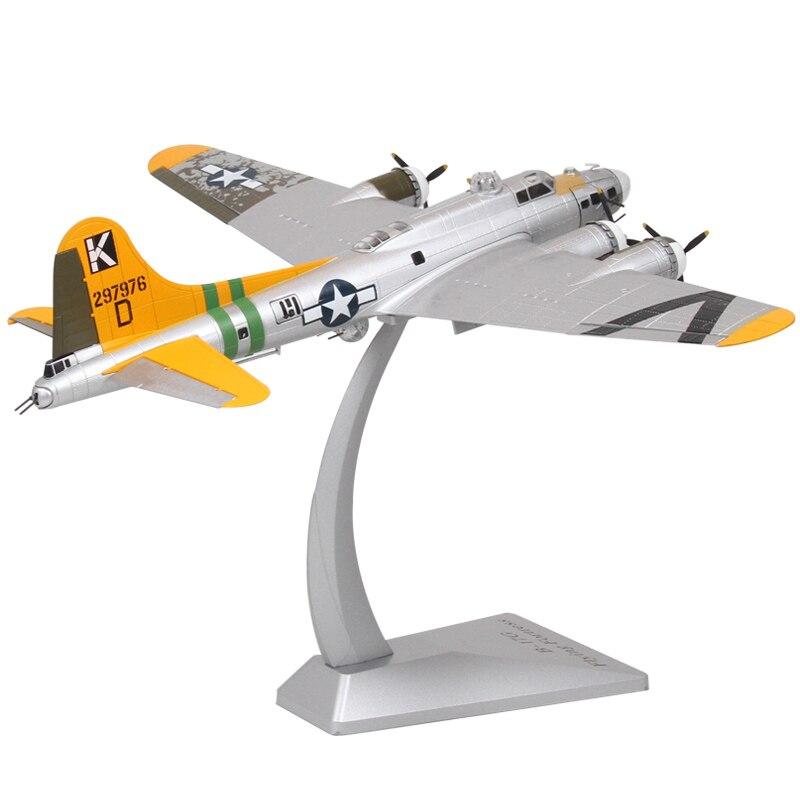 Oyuncaklar ve Hobi Ürünleri'ten Pres Döküm ve Oyuncak Araçlar'de Yeni 1/72 Ölçekli Uçak Modeli Oyuncak ABD B 17G Bombacı Uçan Kale Model Uçak Diecast Metal Oyuncak Yetişkin Için Hediyeler Koleksiyonu'da  Grup 1