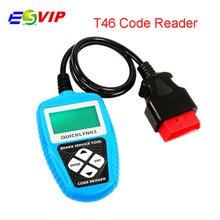 5pcs/ Low Price Auto Code Reader T46 JOBD/OBDII/EOBD scanner Compliant Vehicles T46 Code Scanner