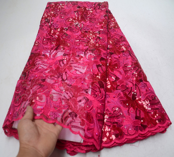 African Handcut Lace organza Fabric with beads stones and sequins Latest African French organza Lace fabric