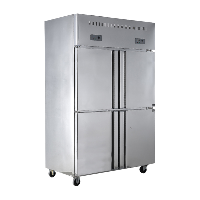 Lecon Commercial Freezer Door 4 Door Refrigerator Four Vertical  Refrigerated Storage Cabinets LC SMBG01 In Freezers From Home Appliances On  Aliexpress.com ...