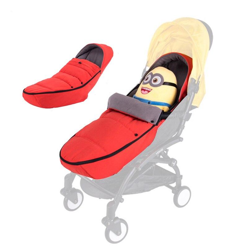 Baby Stroller Sleeping Bag Newborn Nest for Babyzen Yoyo Yoya Pram Fleece Foot Muff Sack Footmuff Accessories Case Cover