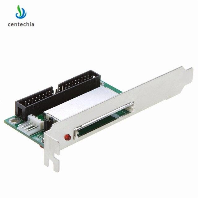 Conjunto de cartão de memória, conjunto de 40 pinos cf para ide compact flash card adaptador bootable acessórios de computador ide conversor card para laptop drop shipping