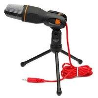 Микрофон для компьютера mikrafon конденсаторный стенд микрофона microfono Горячие лацкане рука Динамик SF-666 микрофон condensador для ПК
