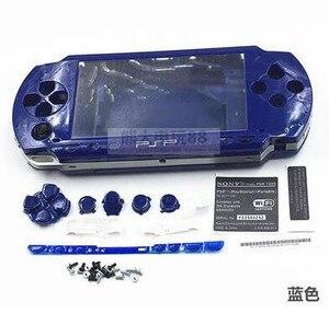 Image 4 - Carcasa completa para PSP case 1000, con Kits de botones, carcasa para PSP1000 PSP 1000