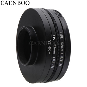 Image 3 - CAENBOO Lens Filters For XiaoMi Yi 4K+Plus Circular CPL UV C PL Sport Action Camera Protector For Xiaomi Yi 4K Lite Accessories