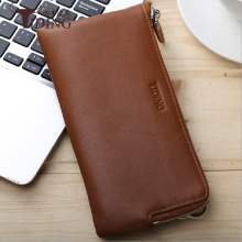 Men  Wallet Real Leather Vintage Business 2019 Mobile Bag Luxury Brand Purse Male Clutch Card Wallets