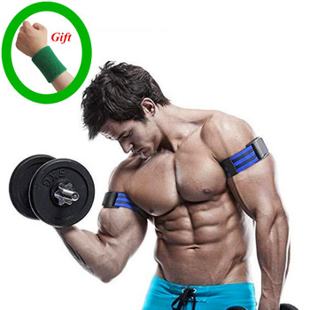 Gym BFR Bands Weightlifting Training Bodybuilding Dumbbell Fitness straps Blood Flow Restriction Tape with gift belt