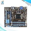 Para asus b75m-plus original usado madre de escritorio de intel b75 socket LGA 1155 Para i3 i5 i7 DDR3 32G SATA3 USB3.0 uATX