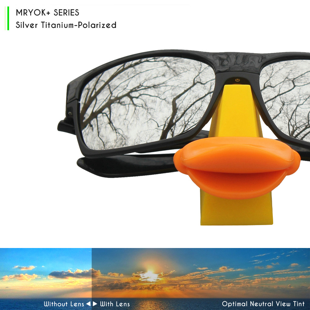 940272d654 Mryok+ POLARIZED Resist SeaWater Replacement Lenses for Oakley Gascan  Sunglasses Silver Titanium -in Accessories from Apparel Accessories on  Aliexpress.com ...