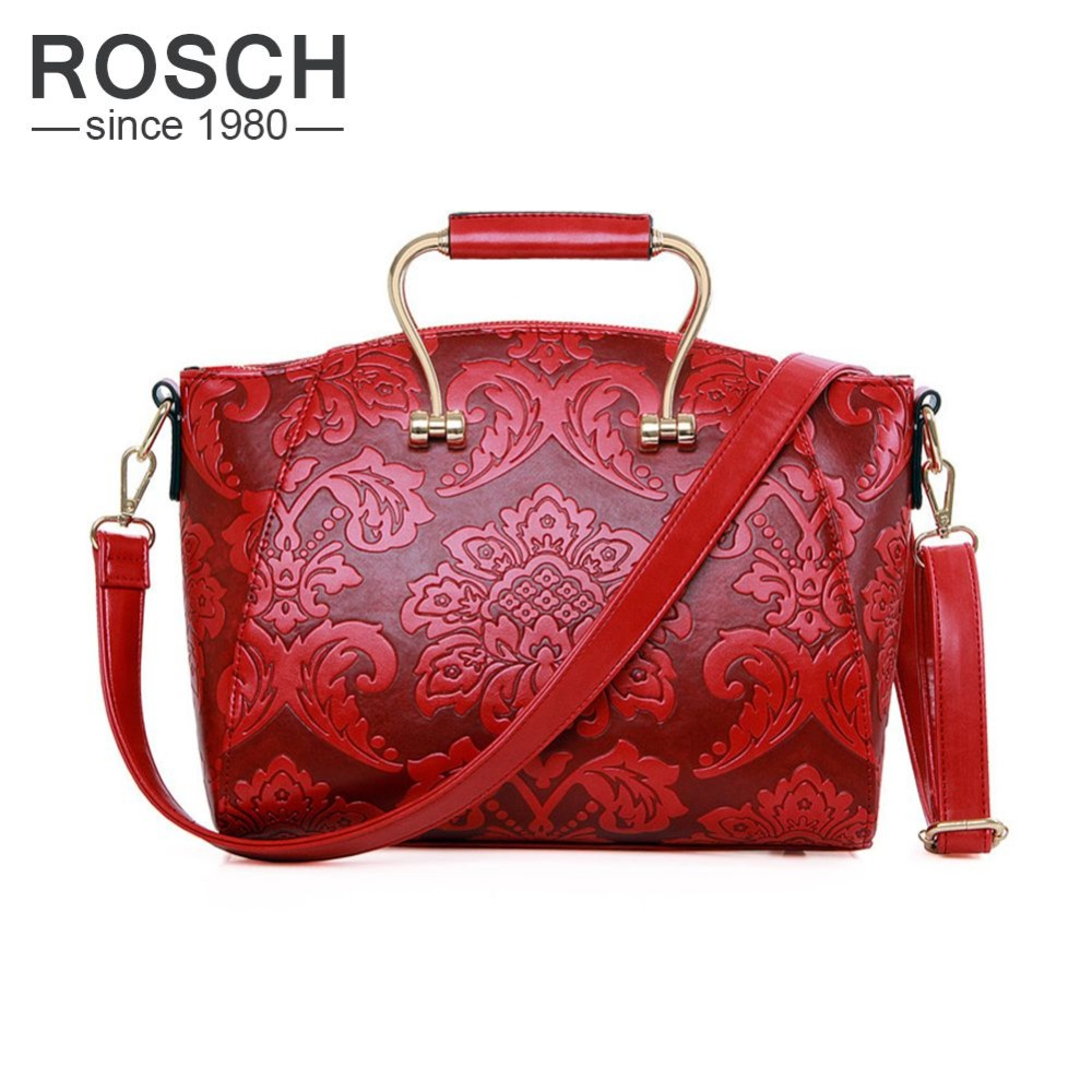 ФОТО Chinese Style Women Handbags  High Quality Flower Embossed Pattern Ladies Shoulder Bags Female Casual Tote Crossbody Bag 2017