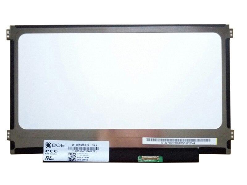 Grade A + + + NT116WHM-N21 v4.1 V4.0 Per BOE NT116WHM N21 30pin LED di Visualizzazione Dello Schermo 1366x768 Opaca Antiriflesso di Ricambio pannello LCDGrade A + + + NT116WHM-N21 v4.1 V4.0 Per BOE NT116WHM N21 30pin LED di Visualizzazione Dello Schermo 1366x768 Opaca Antiriflesso di Ricambio pannello LCD