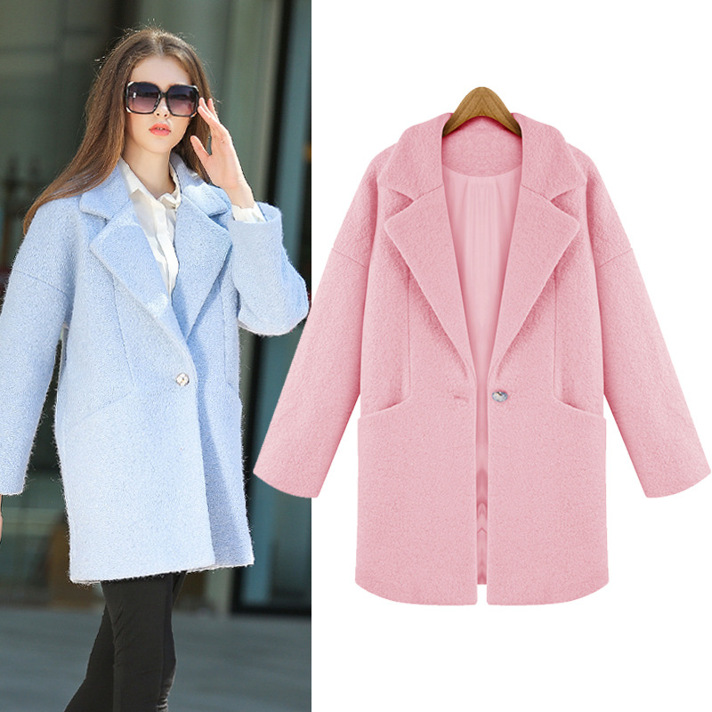 Aliexpress.com : Buy New women winter wool coat women's loose ...