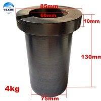 Grafietsmeltkroes 4 KG voor Smelten Metalen voor goud  zilver  koper smelten. Grafietsmeltkroes Ovens GRATIS BEZORGING