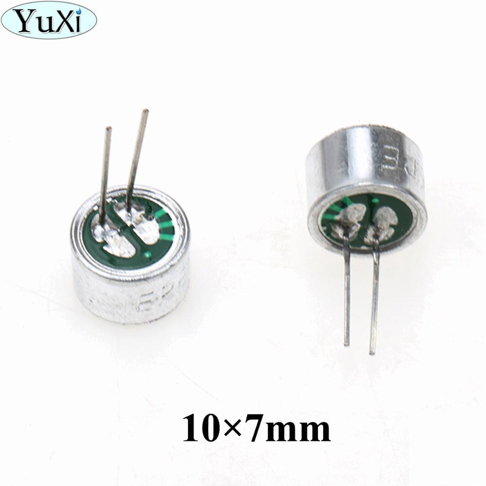 YuXi 10pcs 10 X 7 Mm Pickup / Electret Microphone / Wheat Heads Wheat Heart Set Damper 10 * 7 Mm/Electronic Component