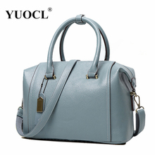 YUOCL shoulder crossbody tote bags for women leather luxury handbags women messenger bags designer famous brands 2017 sac a main