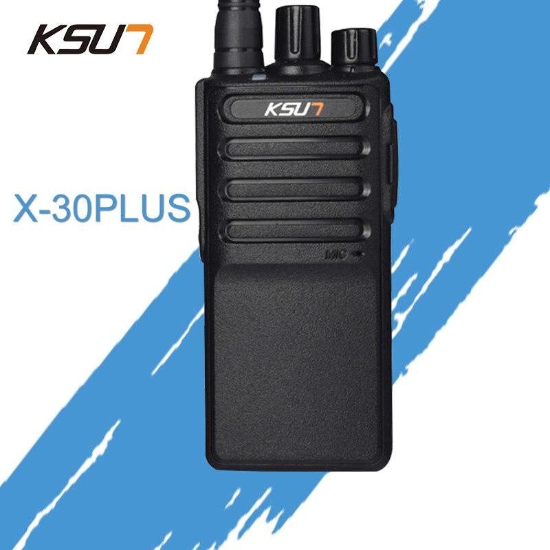 Free Shipping New KSUN X-30PLUS Portable Radio Walkie Talkie 5W 16CH UHF Two Way Radio Interphone Transceiver Mobile