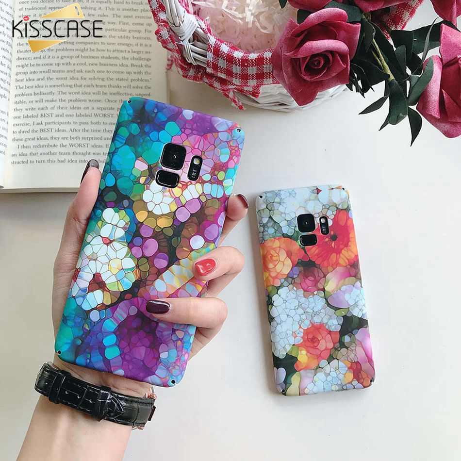 KISSCASE Case For Samsung Galaxy S10 S9 Plus S10e Hard PC Phone Cases For Samsung Galaxy S10 S8 Plus S7 Edge M20 M10 Cover Coque