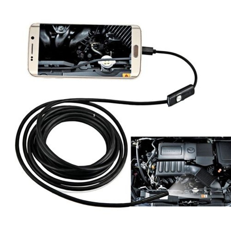 HD 8mm Lens 1-10m Cable Android OTG USB Endoscope Camera Flexible Snake Pipe Inspection Android Phone USB Borescope CameraHD 8mm Lens 1-10m Cable Android OTG USB Endoscope Camera Flexible Snake Pipe Inspection Android Phone USB Borescope Camera