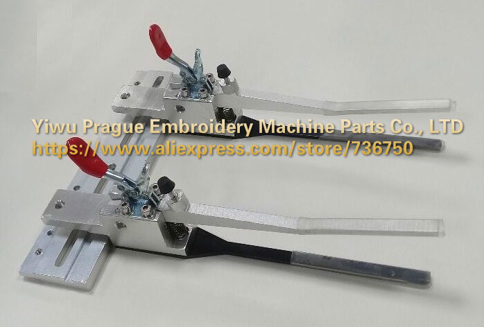 Tubular Machine Fix Clamp Set TAJIMA FEIYA ZGM Household Embroidery Machine Spare Parts Store 736750