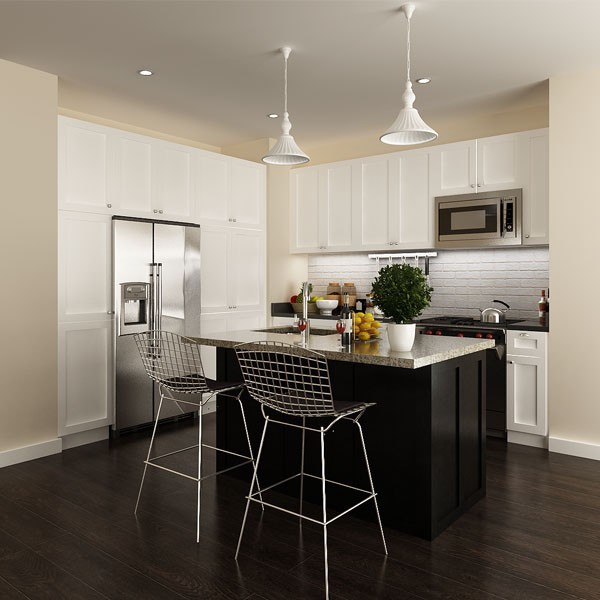 prefab kitchen cabinets vs custom prefabricated home depot project font solid wooden modern