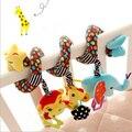 Детские Развития IQ Игрушки Обезьяна Слон Кровать Детская Кровать Висит Колокол Детские Игрушки Мобильные Bebes Игрушки для Ребенка