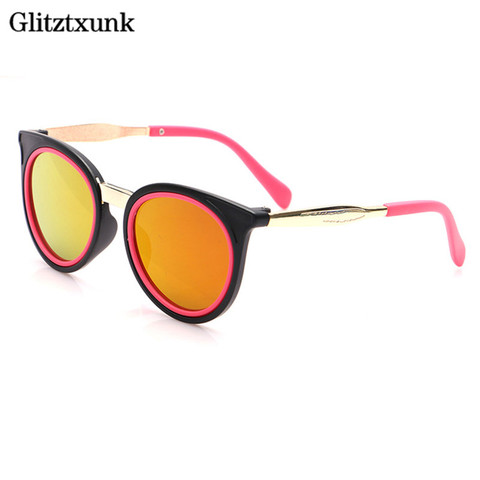 Glitztxunk 2018 Cat Eye Children Sunglasses Sports for Girls Boys Kids Outdoor Sunglasses  Anti-uv Removable Babys Sunglasses Karachi