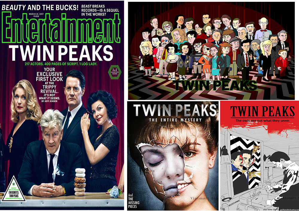 TWIN PEAKS Posters Clear Image Wall Stickers Home Decoration Good Quality Prints White Coated Paper Abooly Brand Z919