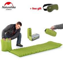 Naturehike Ultralight Outdoor Air Mattress Moistureproof Inflatable Air Mat With TPU Camping Bed Tent Camping Mat Sleeping Pad