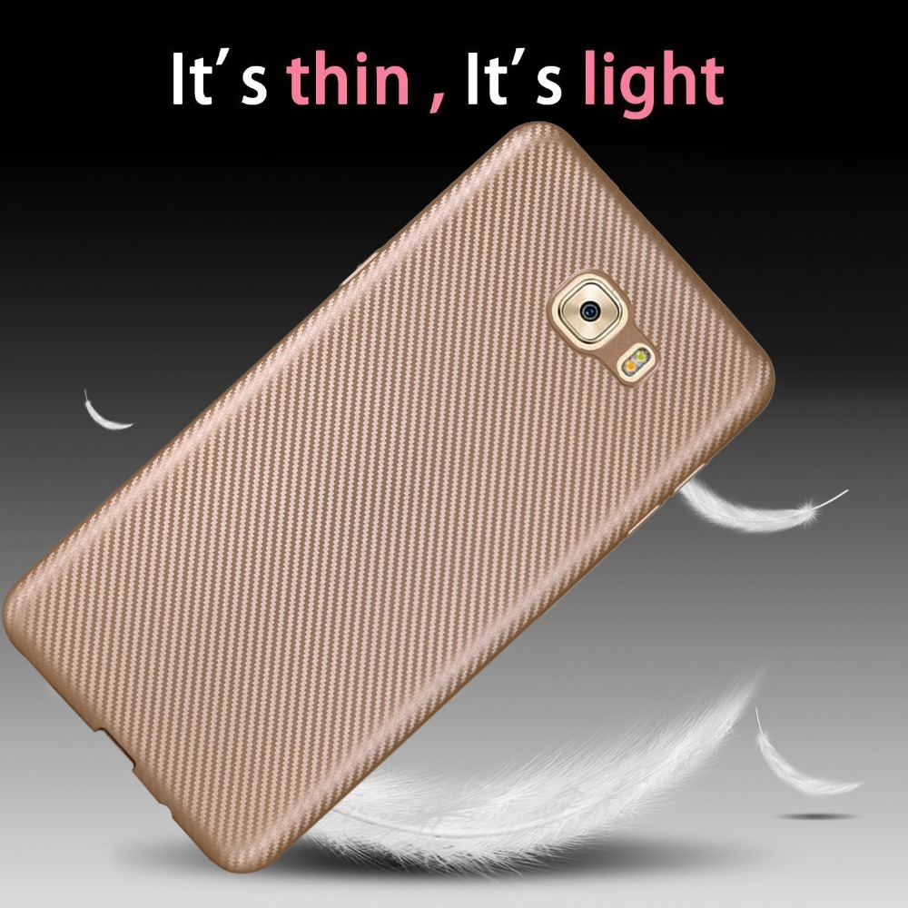 For Samsung Galaxy C9 Pro Sm C900 Cover Ultra Thin Soft Tpu Case Shell C 9 Non Slip Anti Fingerprint In Fitted Cases From
