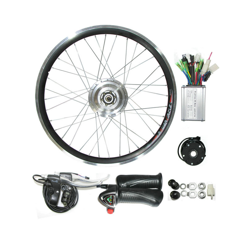 "Pd750 Electric Motor Kit: 26"" 350W 36V Electric Bike Motor Electric Mountain Bike"
