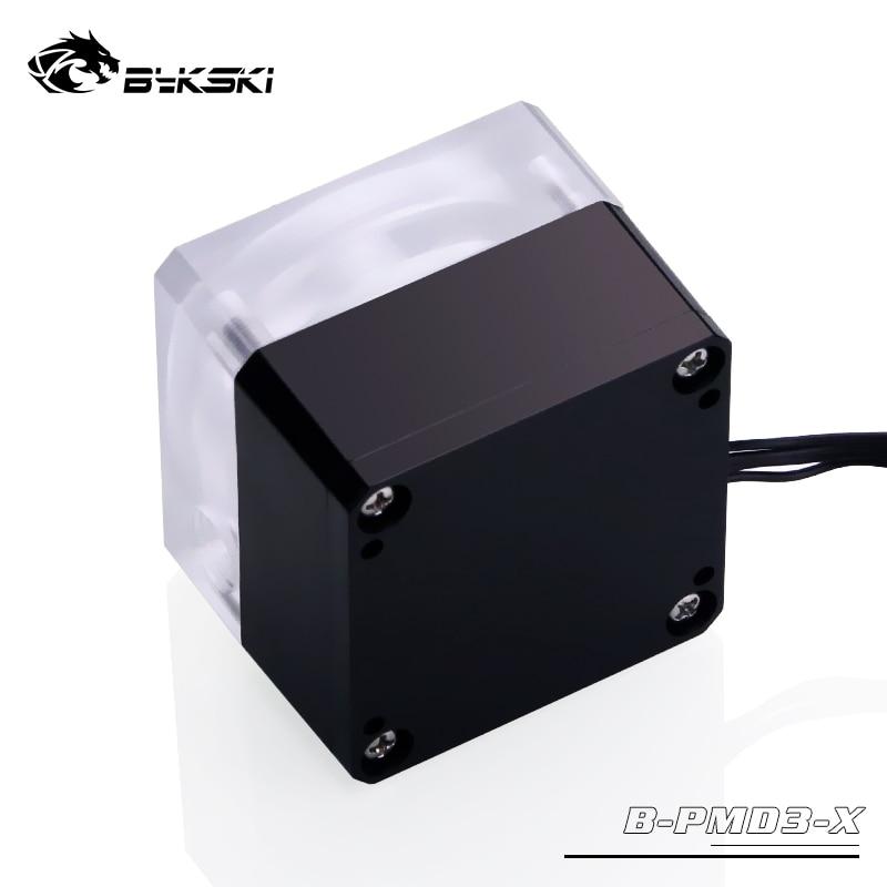 Bykski B-PMD3-X, PWM DDC насосы, максимальный поток 600л/ч, Максимальный подъем 6 метров