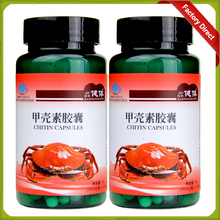 Free Shipping 2 bottles Best Quality Chitosan Tablets capsules(China (Mainland))