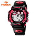 HOSKA Students Electronic Watch Men Watch Waterproof Outdoor Sports And Leisure Versatile Luminous Watches Big