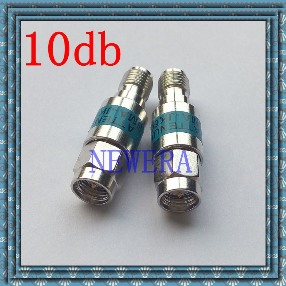 Ternary alloy 2W SMA male to SMA  female Coaxial RF Attenuator DC to 6.0GHz 50ohm 10db explay для смартфона explay craft