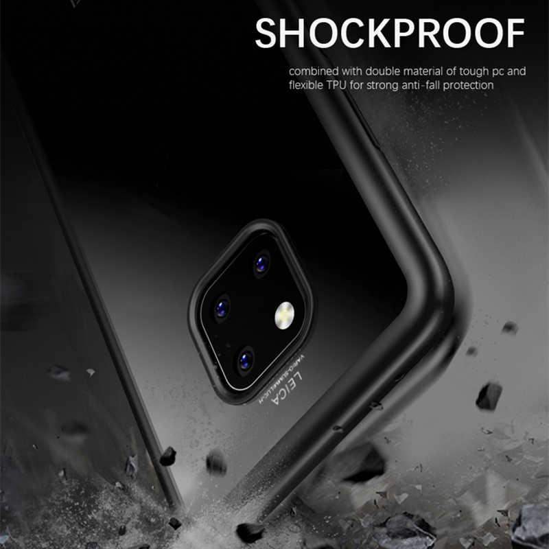 Untuk Huawei Mate 20 Case Ipaky Mate 20 Lite Keras Transparan Kembali TPU + PC Hibrida Tahan Guncangan Shell untuk Huawei mate 20 Pro Case