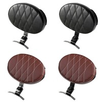 Areyourshop Motorcycle Moto Driver Rider Backrest Pad For Harley Fatboy Heritage Softail 2007 2017 Motorcycle Accessories Seat