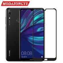 Huawei Protector de pantalla de vidrio templado Y7 2019, DUB LX1, Y7 2019 Y 7 Y72019