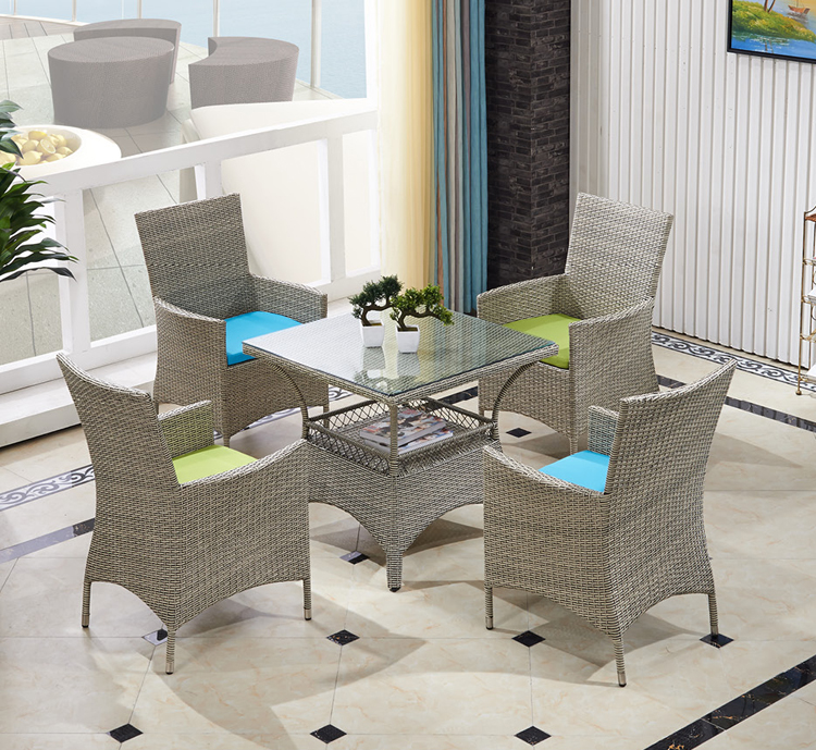 All Weather Wicker Papasan Chair Outdoor Furniture-in ... on Patio Living Room Set id=58957