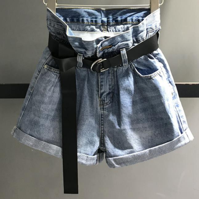 2020 Summer New Fashion High Waist Denim Shorts Women Casual Loose Wide Leg Jeans Shorts2020 Summer New Fashion High Waist Denim