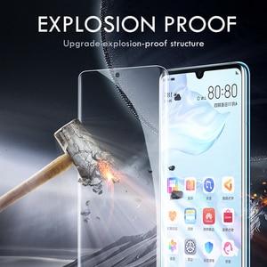 Image 2 - 25D Hydrogel protector de pantalla de película para Huawei P30 Pro P20 Lite P10 Pro Lite película protectora para Honor 8 9 10 lite no cristal