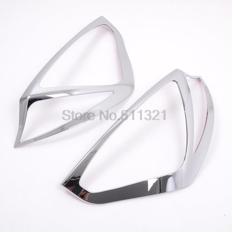 Car Styling For Ford Fiesta 2010-2014 Hatchback ABS Chrome Rear Light Cover Trim Tail Light Streamer Frame 2pcs/set Auto Parts & Online Get Cheap Car Parts for Ford Fiesta -Aliexpress.com ... markmcfarlin.com