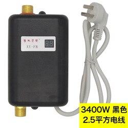 ALDXY52-XY-FB-A 3400W Inneous bojler natychmiastowy elektryczny bezzbiornikowy podgrzewacz natychmiastowy elektryczny podgrzewacz wody prysznic 3 sekundy gorący