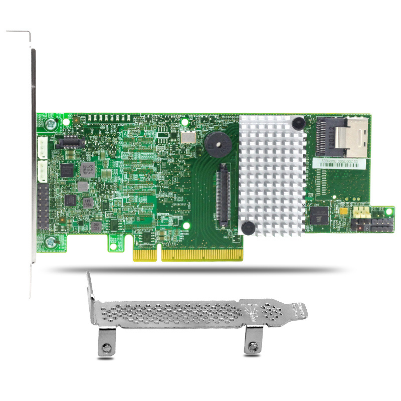 MegaRAID SAS 9271-4i 4 Port 6Gb/s PCI Express 3.0 Raid Controller Card 1GB Cache 375 3536 sas raid with battery array card pci e sas card 100% test good quality